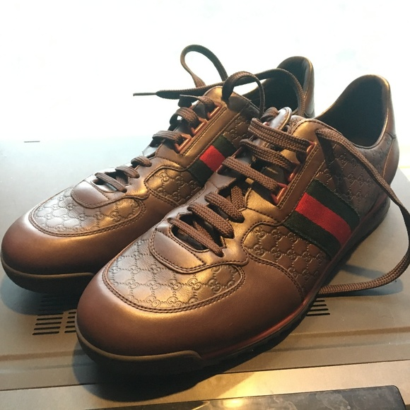 a721865a3dc Gucci Other - Men s Gucci SL73 Sneakers in Brown